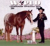 Robin Chouteau and Dreams Double Date 2004 Nationals Top 10 Showmanship